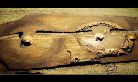 Archaeological excavations. Bronze Age